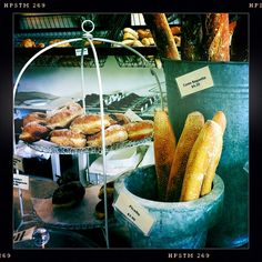 Lots of yummy treats in the bakery this morning Yummy Treats, Bakery, Vegetables, Photos, Food, Twine, Pictures, Meal, Bread Store