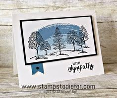 Lovey as a Tree stamp set by Stampin' Up! www.stampstodiefor.com