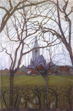 Piet Mondrian on Pinterest | Mondrian, Chrysanthemums and Church