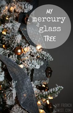 Dark grey and black (and maybe blue) tree Diy Home Crafts, Diy Craft Projects, Holiday Crafts, Crafts To Make, Fun Crafts, Holiday Decor, All Things Christmas, Christmas Themes, Pinterest Diy