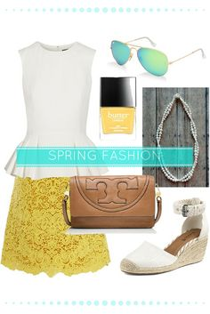 What to wear to a spring shower // Spring fashion for women