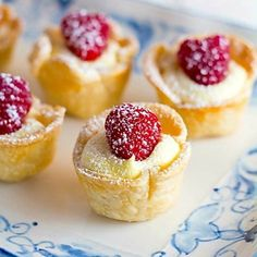 These little lemon tartlets are pretty, elegant and the fresh lemon flavor will get you through the gloomy winter months!