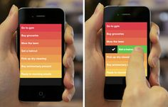 iphone goal tracking app