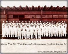 """""""SACO MUCHO"""": Foto da Turma II de RC-FN de 1981 do então CAdest ..."""
