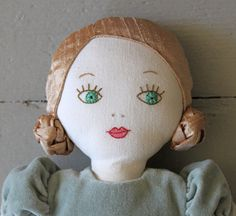 A Bespoke Bosom Doll Dress Couture Sewing Techniques, Tilda Toy, Fabric Dolls, Rag Dolls, Doll Maker, Soft Dolls, Diy Doll, Doll Patterns, Doll Toys