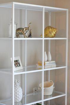 DIY bookshelf-ikea hack