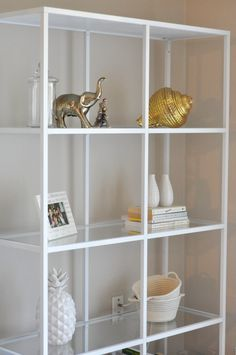 DIY bookshelf-ikea hack