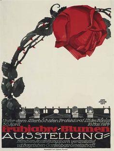 Otto Ottler (German, 1891–1965) Title: Fruhjahrs-Blumen Ausstellung , 1913