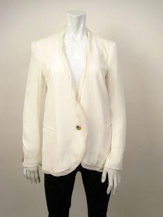 Helmut Lang Silk Jacket. Retail-$ 525, HW-$135.
