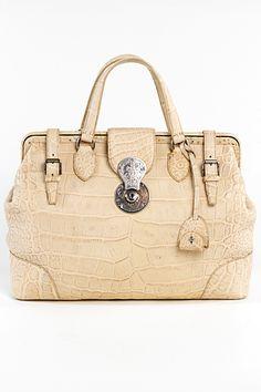 Ralph Lauren Crocodile Bag