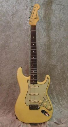 1964 Fender Stratocaster Olympic White
