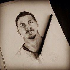 Ibra drawing