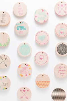 gift tags / pretty packaging! new at Sucre Shop