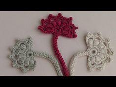 Crochet flower bud. Motive for the Irish crochet kruzheva.Urok .. Discussion on LiveInternet - Russian Service Online Diaries
