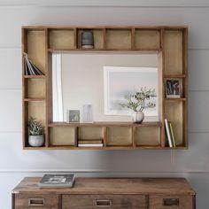 Pigeonhole Mirror