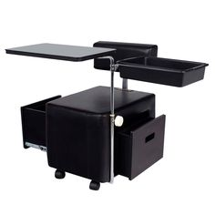 GLAMMAR PEYTON PORTABLE MANICURE NAIL TABLE BLACK Is Great For Any Salon Whether You Use It More Information EuroStyle