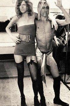 David Bowie & Iggy Pop @dmvc