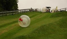 Rotorua, New Zealand! This is the best time of your life... Zorbing rocks!