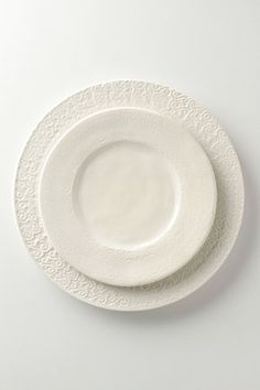 mis-matched white dishes