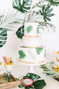 tropical wedding cake - suess-und-salzig-hochzeit-hochzeitstorte-modern