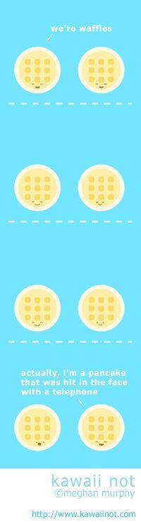Pancake Or Waffle by Megan Murphy