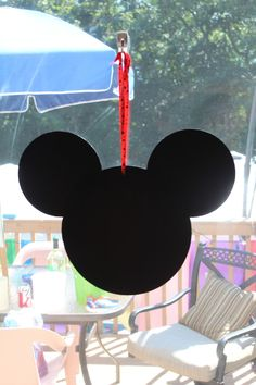 Mickey decoration. Disney. First birthday
