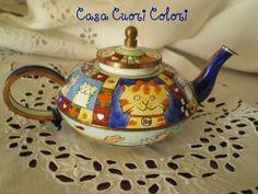 casa cuori colori: Le collezioni di Paola: le teiere