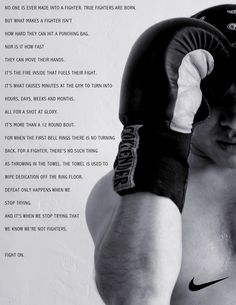 Are you a fighter? #fittodo