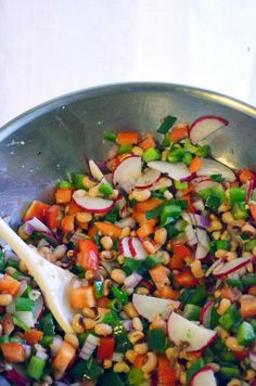 mixed bean salad pakistan chick pea salad delish monday meal review ...