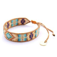 Mishky Beaded Single Wrap Adjustable-Size Bracelet by Mishky -- Awesome products selected by Anna Churchill