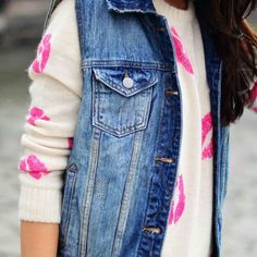 New Denim Jean Vest