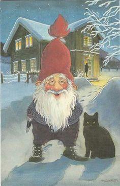Midthun zwarte kat