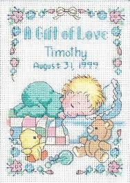 baby cross stitch patterns free - Google Search