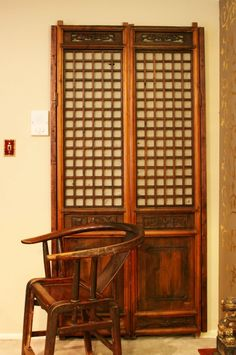 Japanese Style Wooden Closet Door