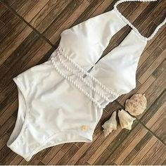 Buy Print Bikini Set Tie Back High Waisted Swimwear Summer Bathing Suits, Cute Bathing Suits, Cute Swimsuits, Women Swimsuits, Beach Attire, Bikini Outfits, Swimsuit Cover Ups, Swimwear Fashion, Bikini Fashion