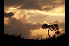 Mooie luchten in Kenia