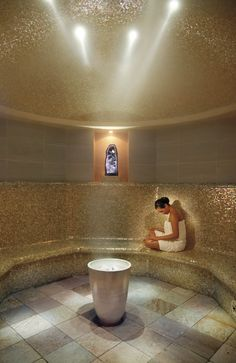 I use the Lifetime steam room after each workout to cleanse the body and help the lactic acid leave the body quickly. No more sore muscles!