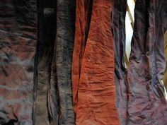 Hand-dyed tights, part of Ann Yee's fall 2011 presentation. And! The designer gave us an exclusive tutorial on how to make 'em right in your kitchen.