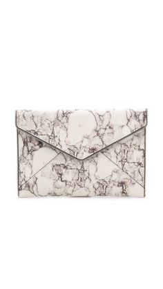 love this marble print clutch