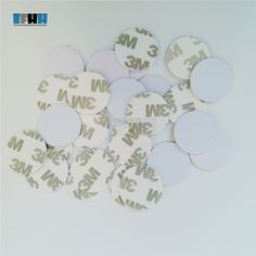 50pcs Uid Changeable Mf S50 1k Ic Keys Keyfobs Token Tags S50 Nfc Clone Copy Coin Style 13.56mhz Rifd Chips/ Diameter= 25mm Clear And Distinctive Iot Devices