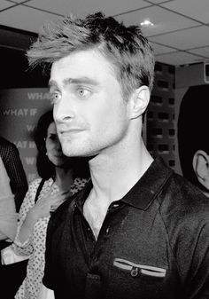 Daniel Radcliffe attends the premiere of 'What If' at Cineworld on August 15, 2014 in Dublin, Ireland