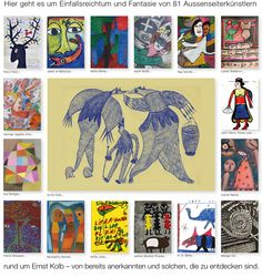 Welcome to a collection of outsider art Outsider Art, Web Gallery, Art Brut, The Outsiders, Presents, Artists, Mannheim, Kunst, Pictures