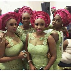 Check Out Our Latest Aso-Ebi Styles: Colorful & Eye Popping - Wedding Digest NaijaWedding Digest Naija