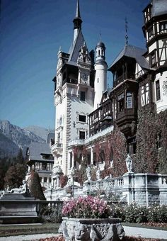 I believe this is actually another pic of Peles Castle*********Tudor style village in Romania