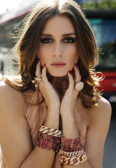 Olivia Palermo beautiful hair and amazing makeup. She is one of my style icons.