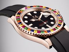Even Rolex comes in rainbow shades.