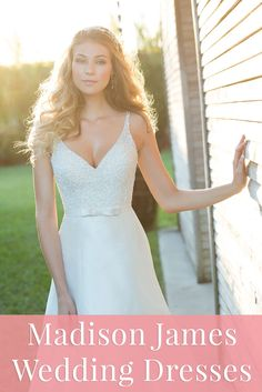 The newest gowns by Allure Bridals! See the elegant looks from the Madison James collection >>