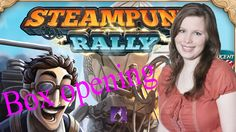 Box opening of Steam Punk Rally
