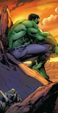#Hulk #Fan #Art. (Ultimate End #2 Cover) By: Mark Bagley. (THE * 5 * STÅR * ÅWARD * OF: * AW YEAH, IT'S MAJOR ÅWESOMENESS!!!™)[THANK Ü 4 PINNING!!!<·><]<©>ÅÅÅ+(OB4E)