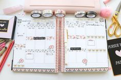 Plan with Me Simply Gilded x Teresa Collins Collab Washi Tape Only Planner Tips, Life Planner, Happy Planner, Teresa Collins, Washi Tape Set, Best Planners, Planner Decorating, Erin Condren, Filofax